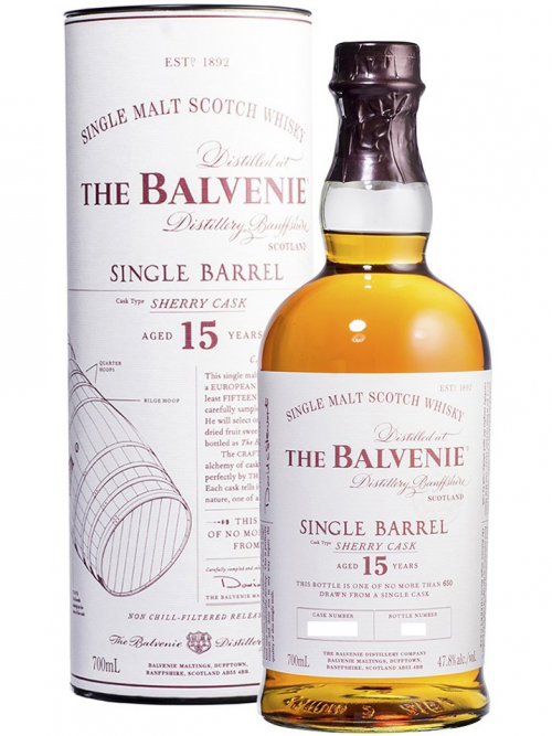 BALVENIE 15 YEARS SINGLE BARREL single malt