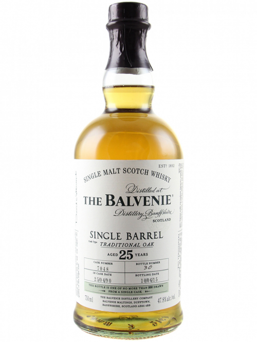 BALVENIE 25 YEARS SINGLE BARREL single malt