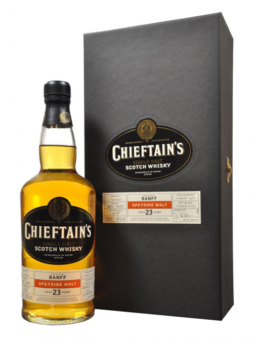 Banff 23 Year Old 1979–2002 Chieftain's