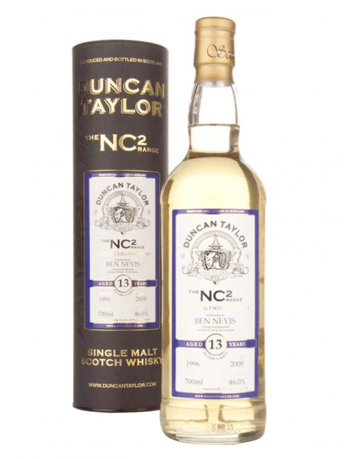 BEN NEVIS 13 YEAR NC2 RANGE 1996 - 2009 SINGLE MALT