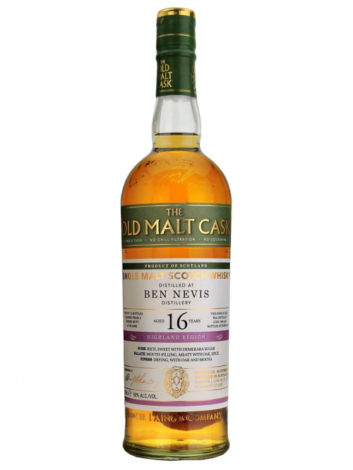BEN NEVIS 16 YEAR 1996 OLD MALT CASK SINGLE MALT