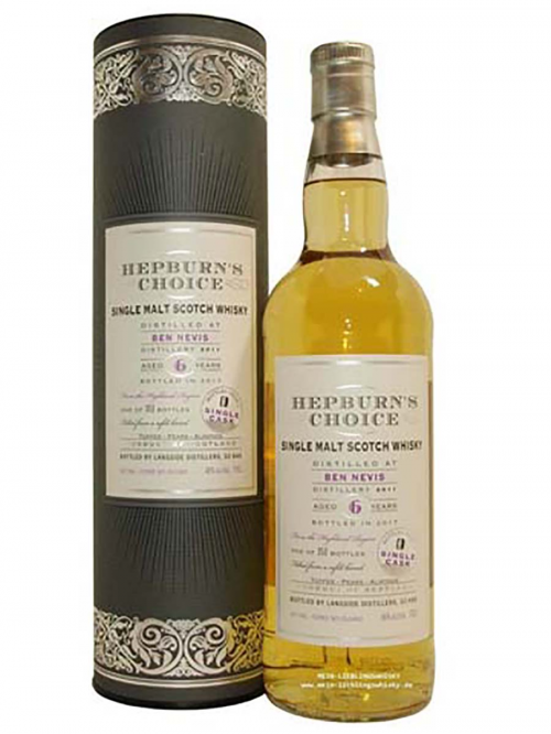 BEN NEVIS 6 YEARS HEPBURN'S CHOICE single malt