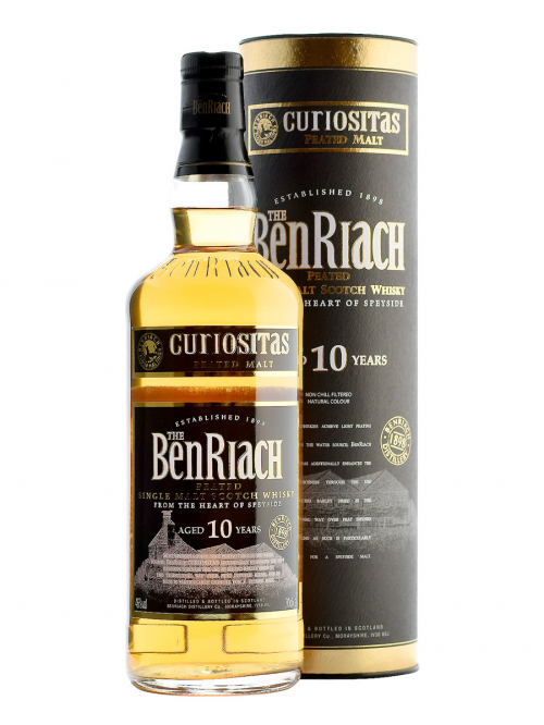 BENRIACH 10 YEARS CURIOSITAS single malt