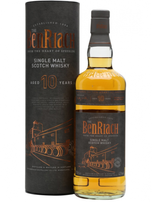 BENRIACH 10 YEARS single malt