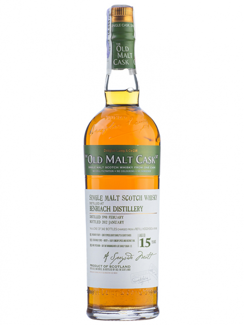 BENRIACH 15 YEAR 1995 OLD MALT CASK SINGLE MALT