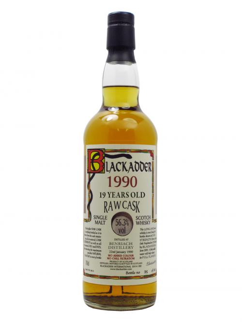 BENRIACH  19 YEAR 1990 - 2009 RAW CASK    single malt