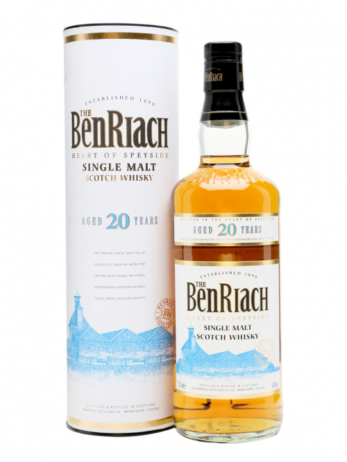 BENRIACH  20 YEAR  SINGLE MALT
