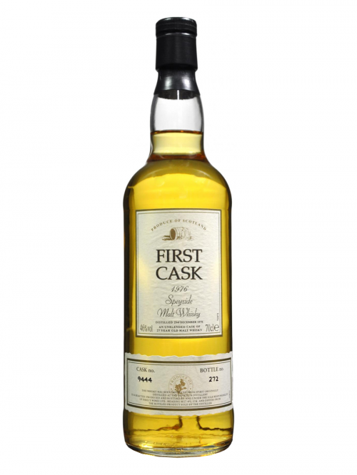 BENRIACH FIRST CASK 27 YEAR OLD 1976