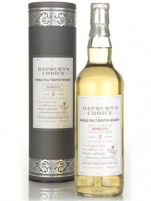 BENRIACH 7 YEARS HEPBURN'S CHOICE single malt