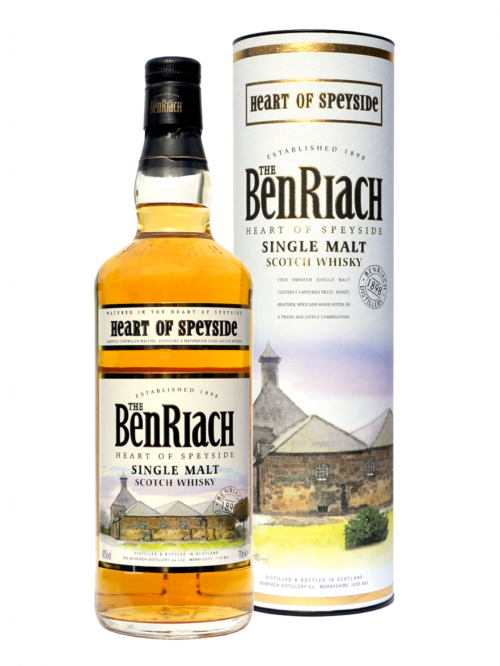 BENRIACH 12 YEARS HEART OF SPEYSIDE single malt