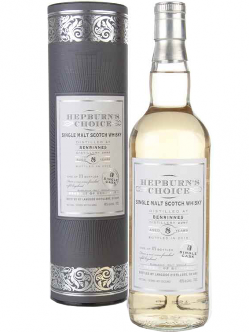 BENRINNES 8 YEARS HEPBURN'S CHOICE single malt