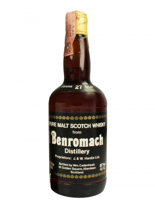 BENROMACH 27 YEAR OLD 1966 CASK STRENGHT CADENHEAD'S