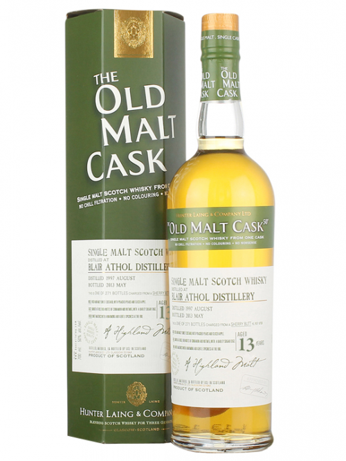 BLAIR ATHOL 13 YEAR 1990 - 2003 OLD MALT CASK  SINGLE MALT