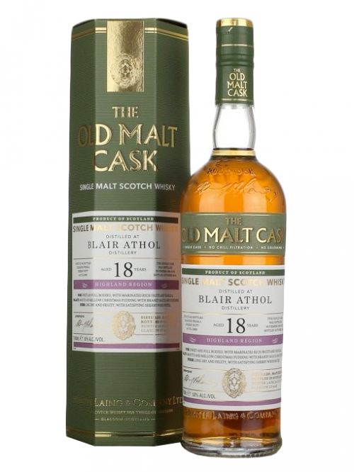 BLAIR ATHOL 18 YEAR 1990 OLD MALT CASK SINGLE MALT