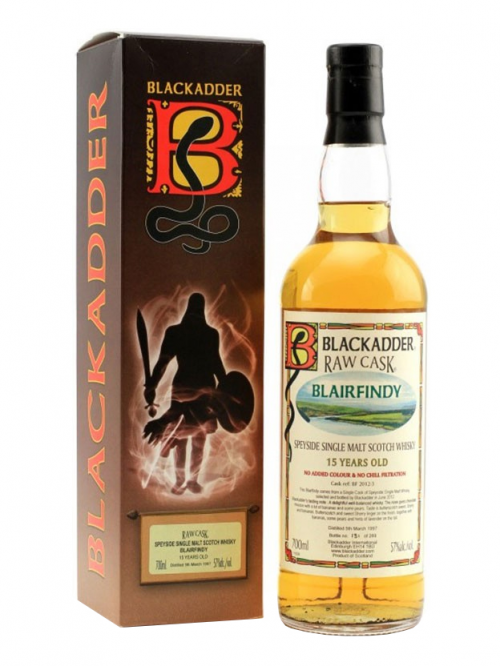 BLAIRFINDY 15 YEAR 1997 - 2012 RAW CASK SINGLE MALT