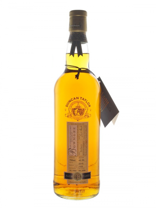 Bowmore 40 Year Old 1966–2006 Rare Auld