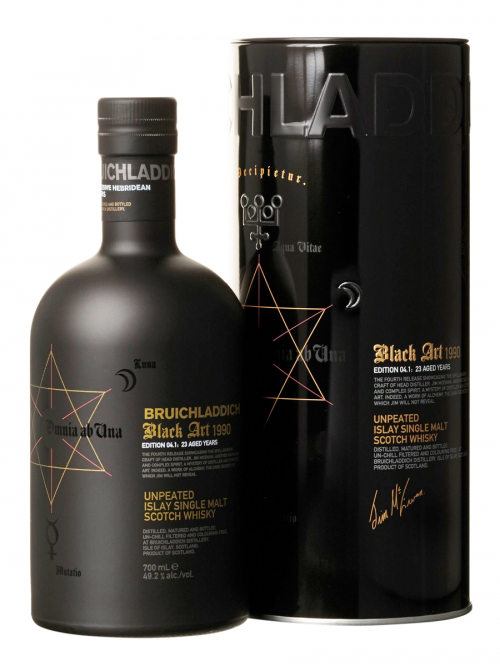 BRUICHLADDICH 23 YEARS 1990 BLACK ART single malt