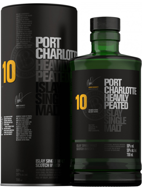BRUICHLADDICH 10 YEARS PORT CHARLOTTE single malt