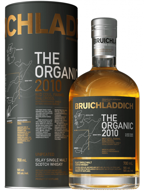 BRUICHLADDICH 2010 ORGANIC single malt