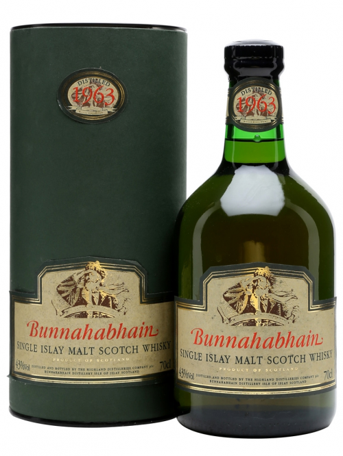 BUNNAHABHAIN 40 YEAR OLD 1963 LIMITED EDITION