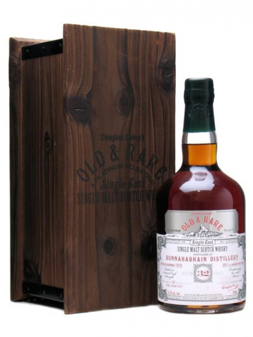 BUNNAHABHAIN 32 YEAR OLD 1978 OLD & RARE SINGLE MALT