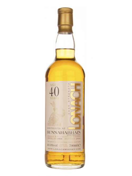 BUNNAHABHAIN 40 YEAR 1969 - 2009 RARE AULD  SINGLE MALT