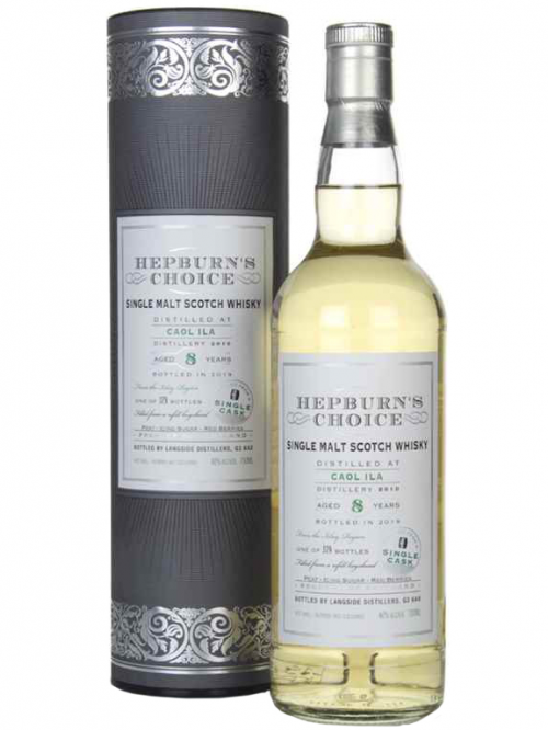 CAOL ILA 8 YEARS HEPBURN'S CHOICE single malt