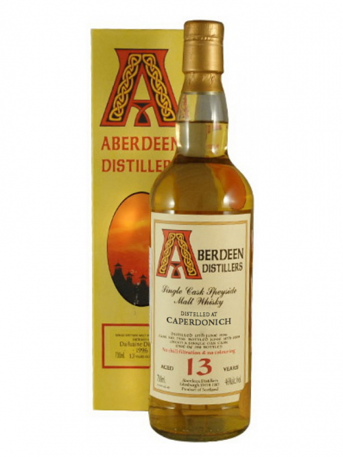 CAPERDONICH 13 YEAR 1996 - 2009 ABERDEEN  SINGLE MALT