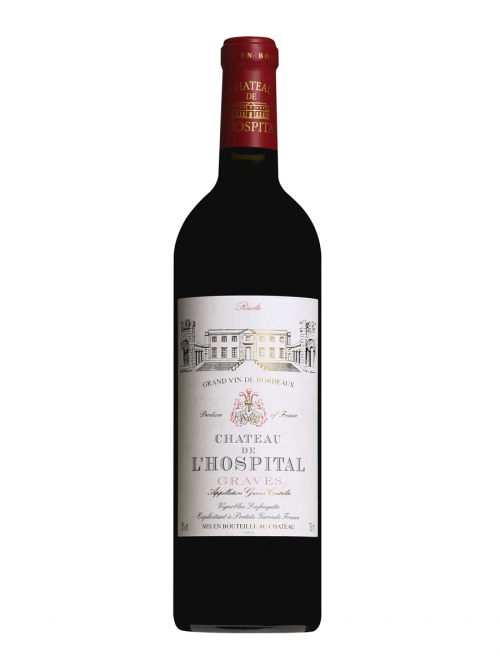 CHATEAU DE L'HOSPITAL  AOC 2005 0,75 RED DRY