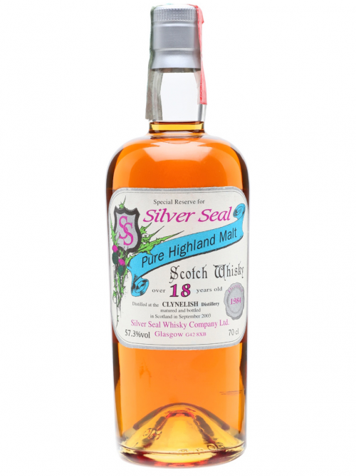 CLYNELISH 18 YEARS 1984-2003 SILVER SEAL single malt