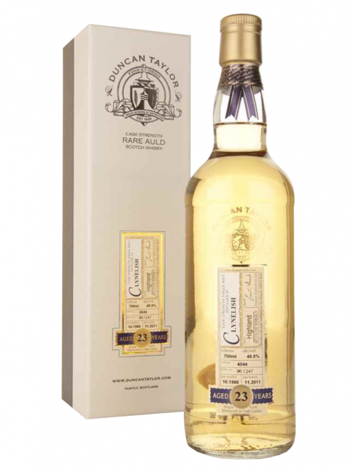 Clynelish 23 Year Old 1988–2012 Dimensions