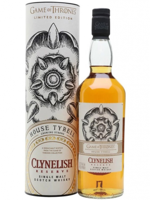 CLYNELISH RESERVE GAME OF THRONES HOUSE TYRELL single malt