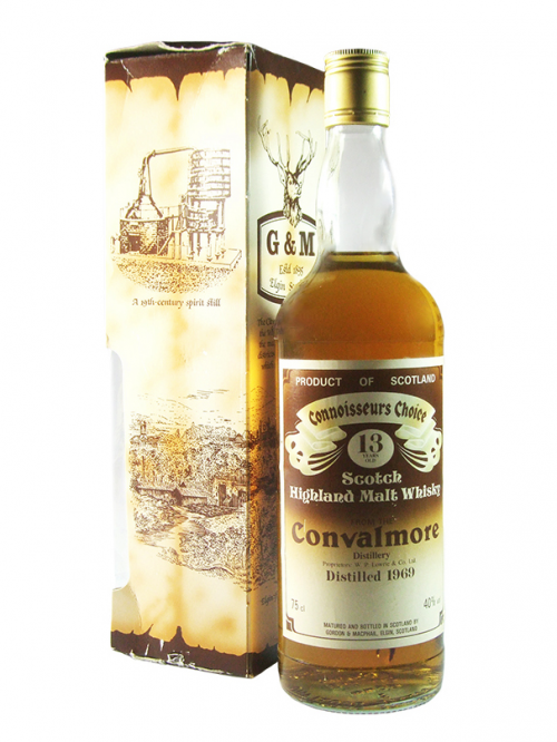 CONVALMORE 13 YEAR OLD 1969 GORDON & MACPHAIL CONNOISSEURS CHOICE