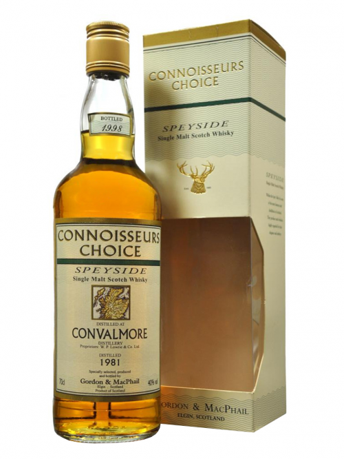 CONVALMORE 1981-1998 CONNOISSEURS CHOICE single malt