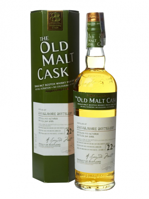 CONVALMORE 22 YEAR 1978 - 2000 OLD MALT CASK  SINGLE MALT