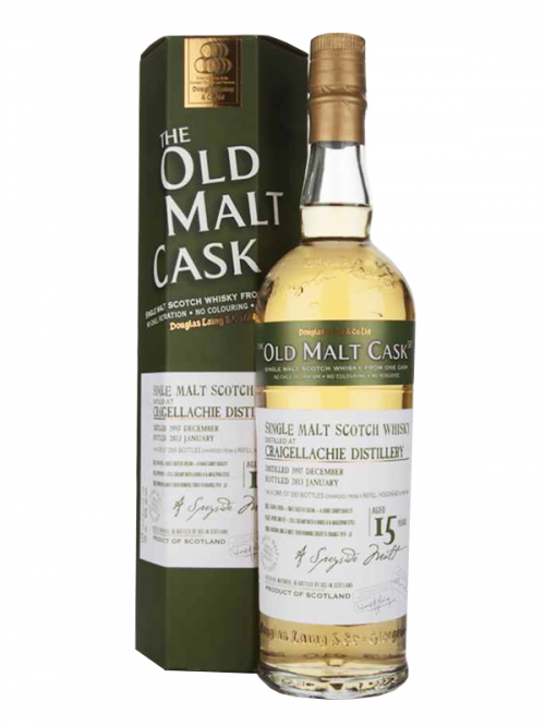 CRAIGELLACHIE 15 YEARS 1991-2007 OMC single malt