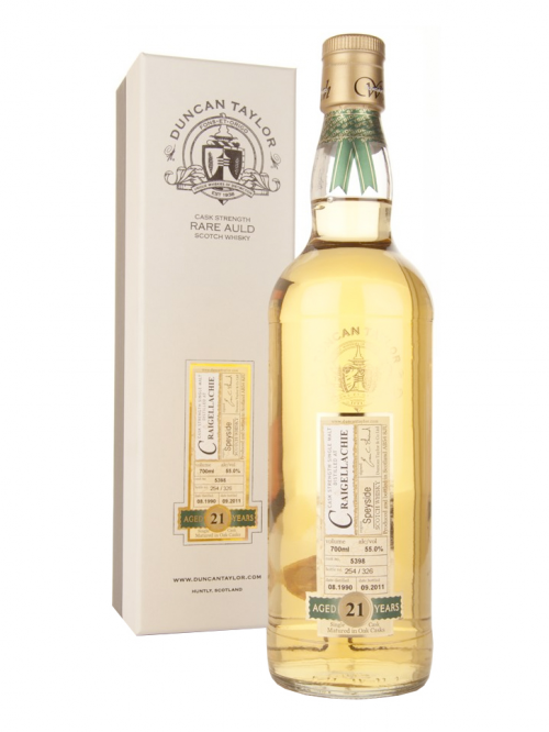 Craigellachie 21 Year Old 1990–2011 Rare Auld