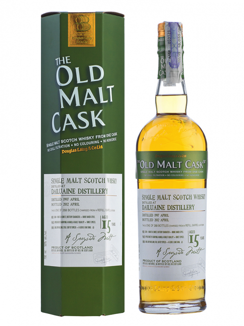 DAILUAINE 15 YEAR 1997 OLD MALT CASK SINGLE MALT