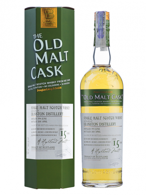 DEANSTON 15 YEAR  1994 OLD MALT CASK  SINGLE MALT