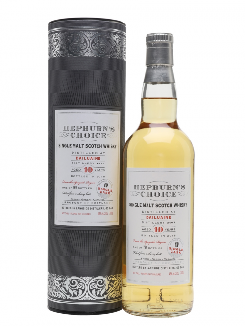DAILUAINE 10 YEARS HEPBURN'S CHOICE single malt