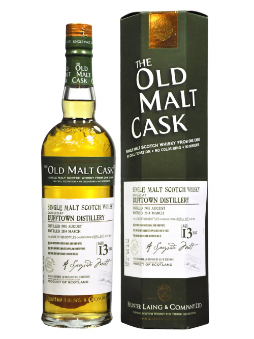 DUFFTOWN 13 YEAR 1990 - 2003 OLD MALT CASK   SINGLE MALT