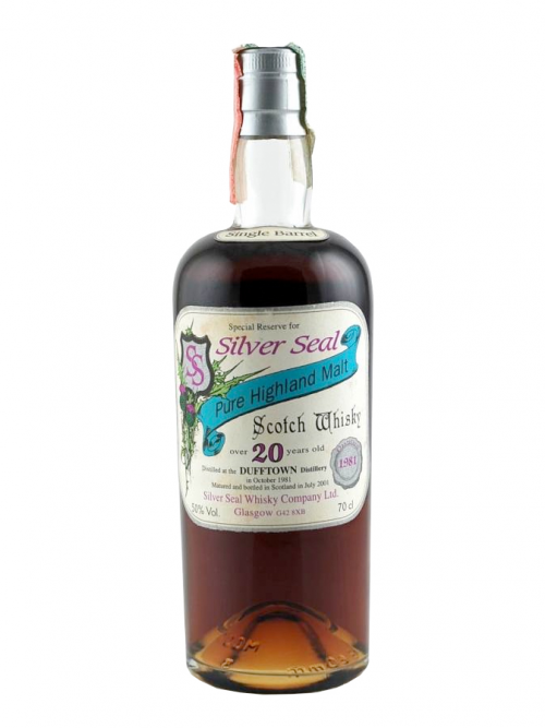 DUFFTOWN 20 YEAR OLD  1981 - 2001 SILVER SEAL