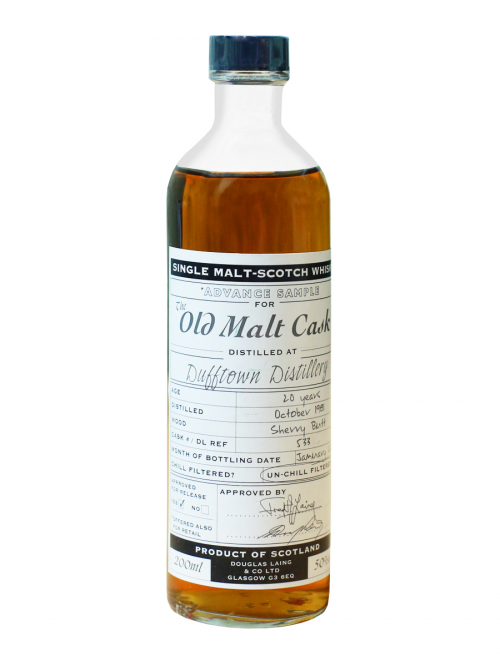 DUFFTOEN 20 YEAR  1981 SINGLE MALT