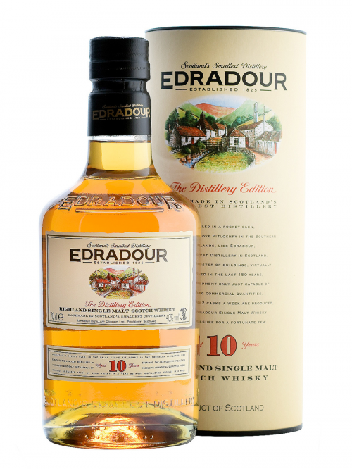 EDRADOUR 10 YEARS single malt