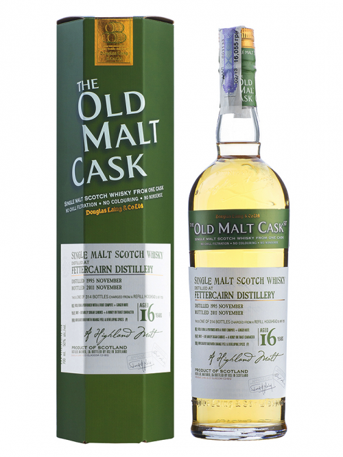 FETTERCAIRN 16 YEAR 1995 - 2011 OLD MALT CASK  SINGLE MALT