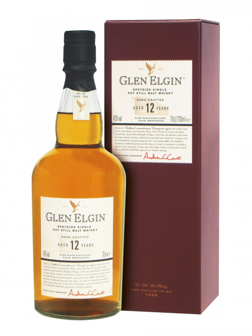 GLEN ELGIN 12 YEAR OLD