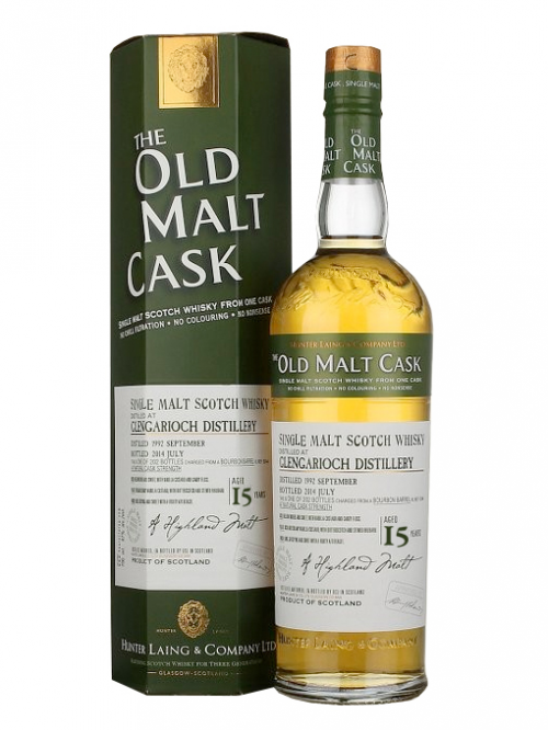 GLEN GARIOCH 15 YEAR 1988 - 2003 OLD MALT CASK  SINGLE MALT