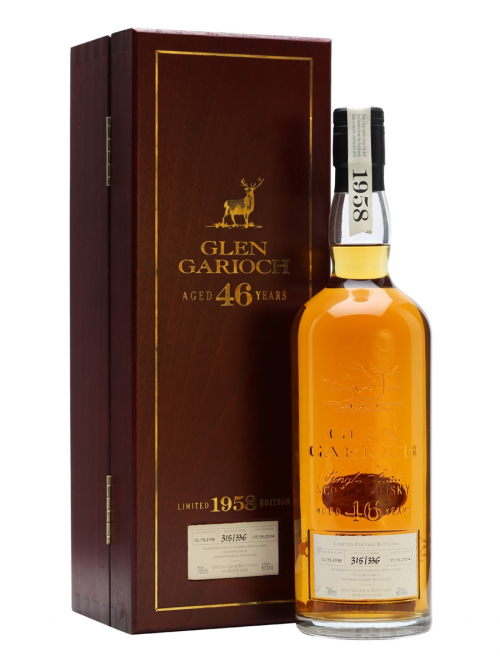 GLEN GARIOCH 46 YEAR OLD 1958 - 2004 LIMITED EDITION