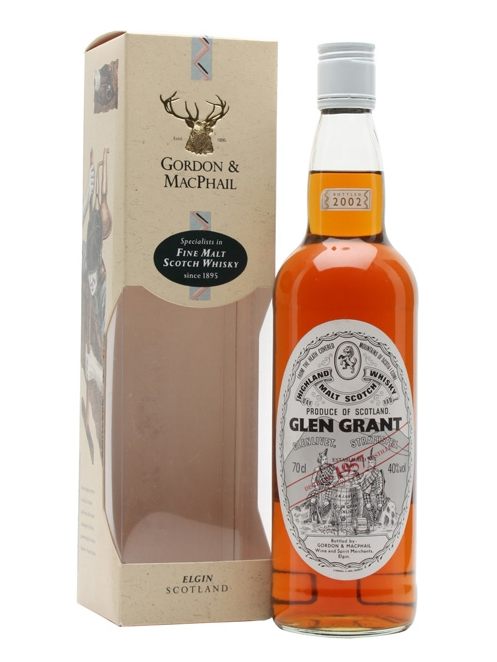 GLEN GRANT 1957 GORDON & MACPHAIL single malt