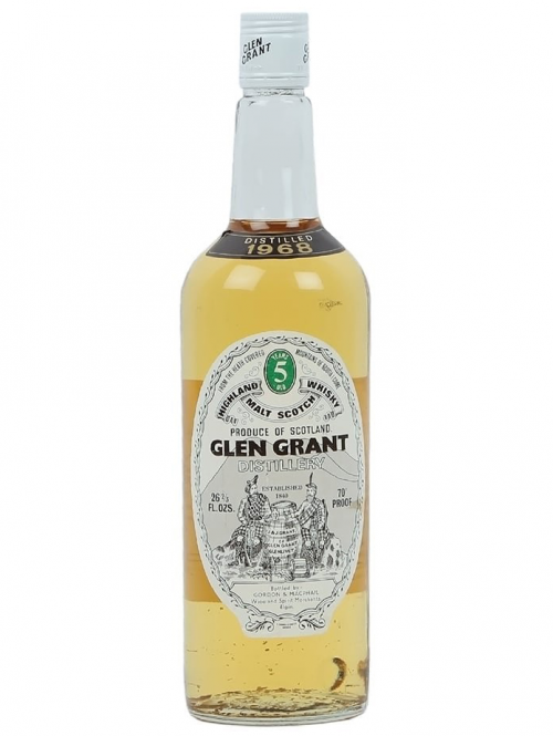 GLEN GRANT 5 YEARS 1968 single malt